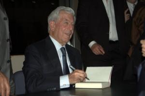 Mario Vargas Llosa in Frankfurt