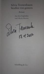 Silvia Tennenbaum: Straßen von gestern
