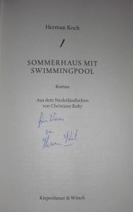 Hermann Koch: Sommerhaus mit Swimmingpool