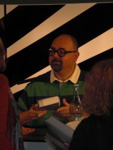 Carlos Ruiz Zafón im Literaturhaus Frankfurt