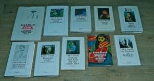 Bücher von Erich Hackl; erschienen im Diogenes Verlag