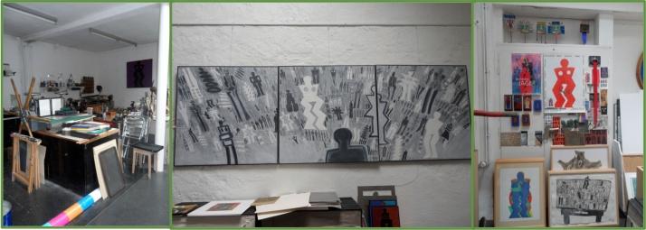 Das Atelier von Bernhard Jäger