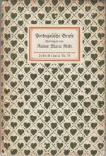 Rainer Maria Rilke - Portugiesiche Briefe IB Nr. 74