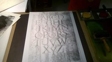 Selbst Gedrucktes beim Gutenberg-Museum