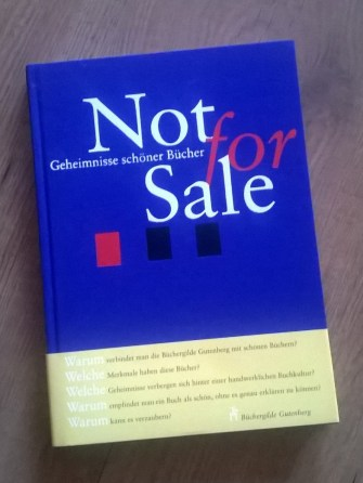 Büchergilde: Not for Sale