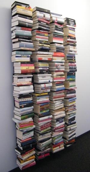 Bücherwand bei Kiepenheuer & Witsch