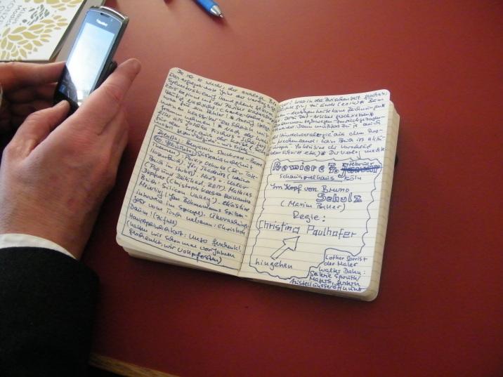 DAS schwarze Notizbuch von KiWi Verleger Helge Malchow