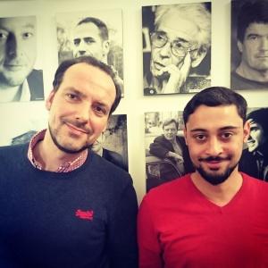 Das Redaktionsteam des KiWi-Blogs: Marco Verhülsdonk und Philipp Rusch (v.l.)