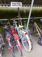 Und tatsächlich ist die interne Fahrradhelm-Rate nach einigen (zum Glück überwiegend glimpflich verlaufenen) Unfällen in den letzten Jahren kontinuierlich gestiegen.