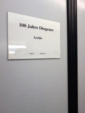 »100 Jahre Diogenes« – Wir arbeiten dran!
