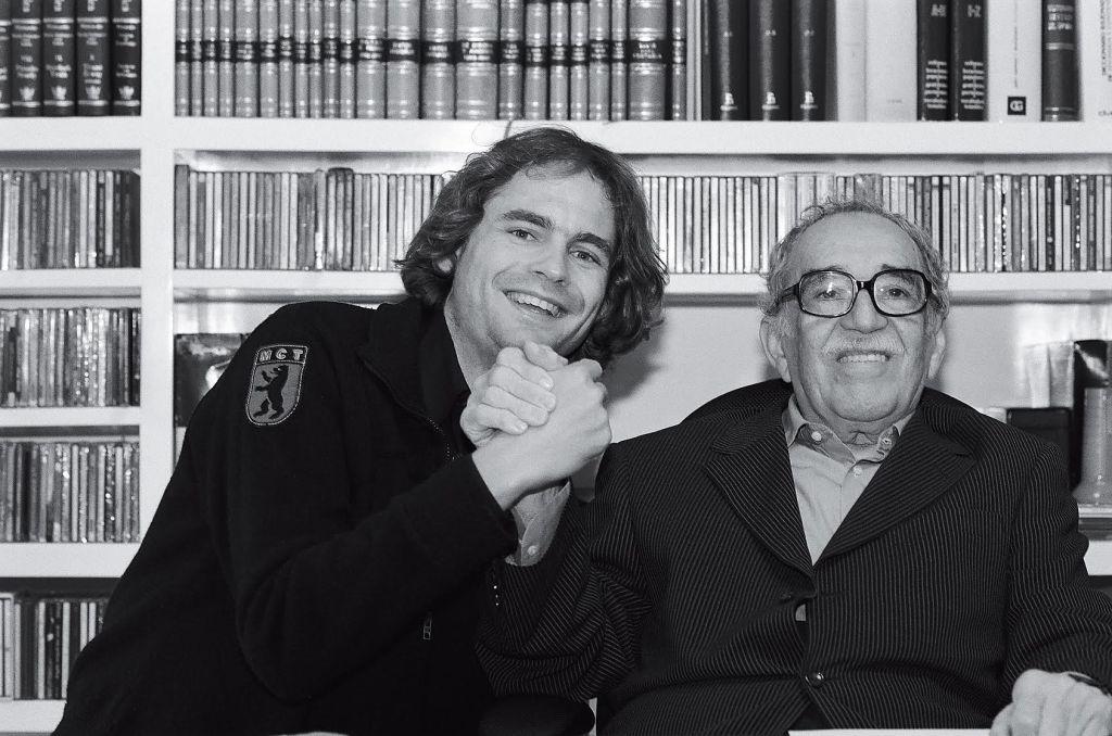 Peter Badge und Gabriel García Márquez (Nobelpreis für Literatur 1982) - © Peter Badge/Typos1 - all rights reserved, 2015