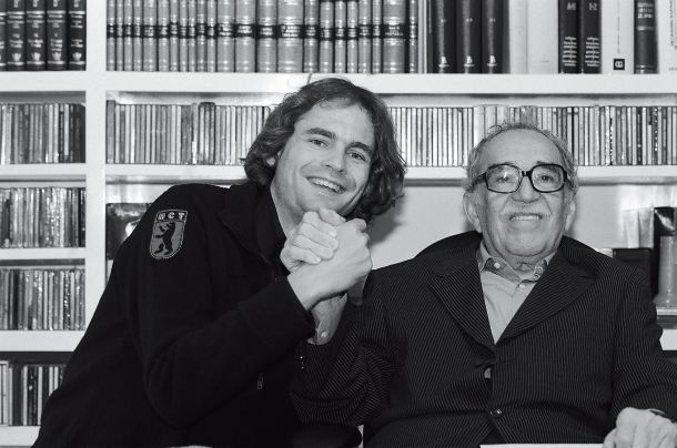 Peter Badge und Gabriel García Márquez (Nobelpreis für Literatur 1982) - © Peter Badge/Typos1 - all rights reserved, 2015