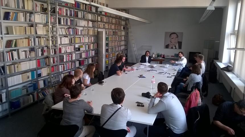 Konferenzraum Suhrkamp Verlag (c) glasperlenspiel13
