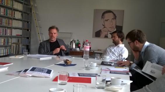 Frank Wegner, Leitung internationale Literatur beim Suhrkamp Verlag (c) glasperlenspiel13