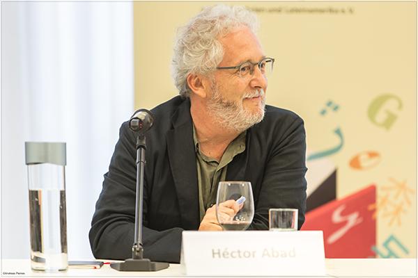 Héctor Abad in Frankfurt | ©Andreas Pleines, Frankfurt