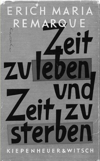 Zeit zu leben und Zeit zu sterben - ein Zensurfall, der viele Fragen aufwirft   ©Archiv Kiepenheuer & Witsch