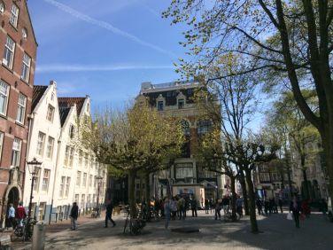 Spui in Amsterdam ©Bettina Baltschev