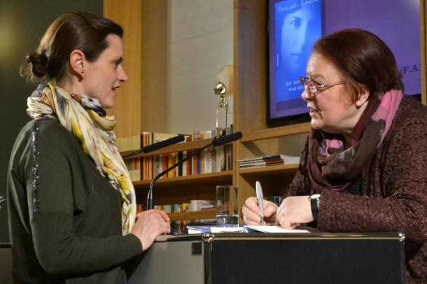 Die Bücherliebhaberin mit Natascha Wodin im Gespräch ©SchöneSeiten
