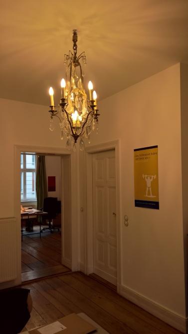 Eingangsbereich des Berenberg Verlags in Berlin ©glasperlenspiel13