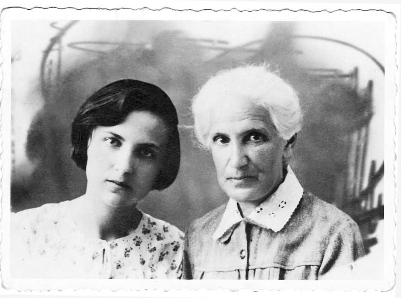 Natascha Wodins Mutter und Großmutter ©Privatarchiv Natascha Wodin
