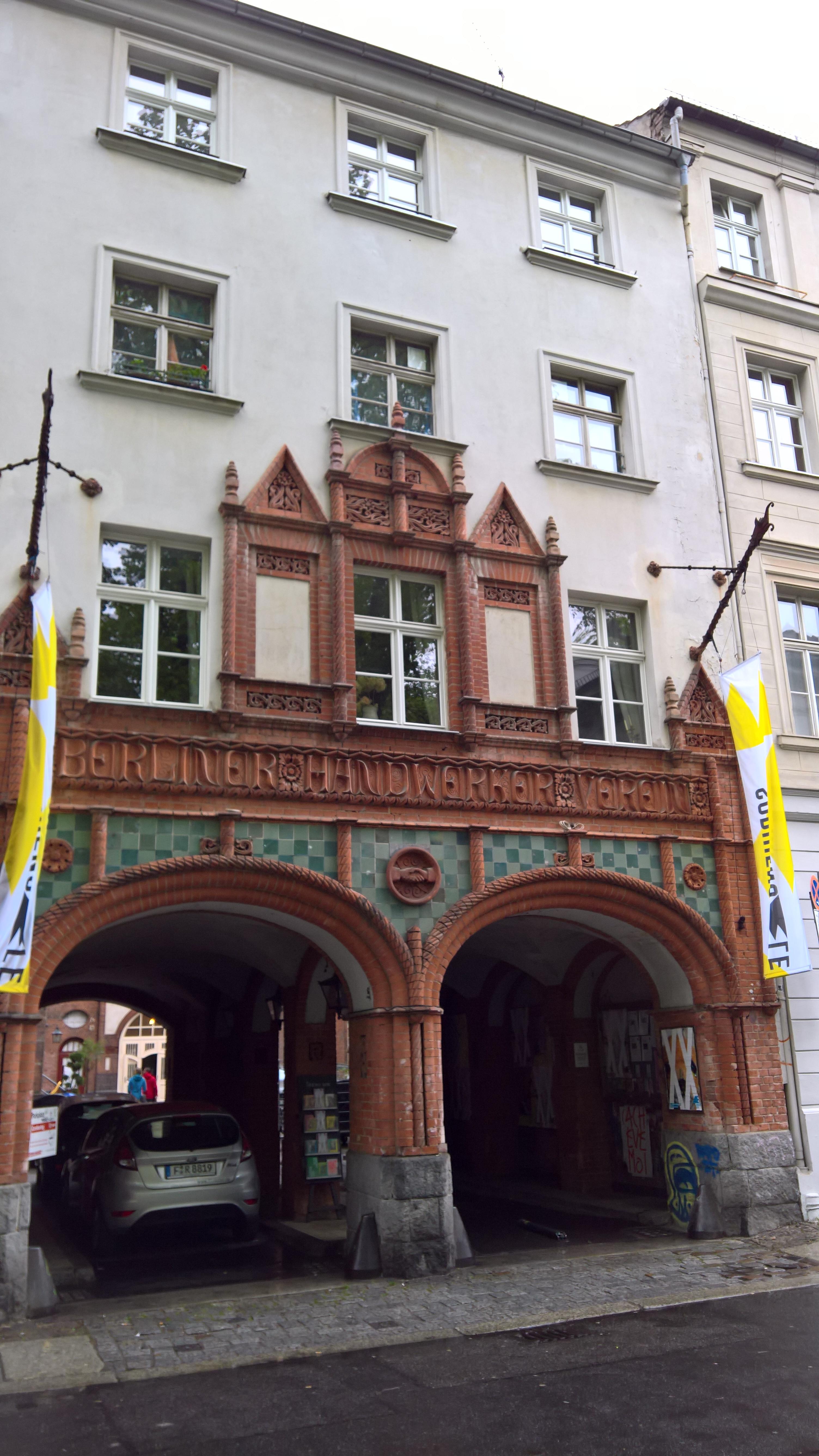 Sophienstraße in Berlin ©glasperlenspiel13