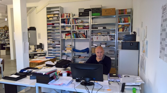 Verleger Rainer Weiss ©glasperlenspiel13