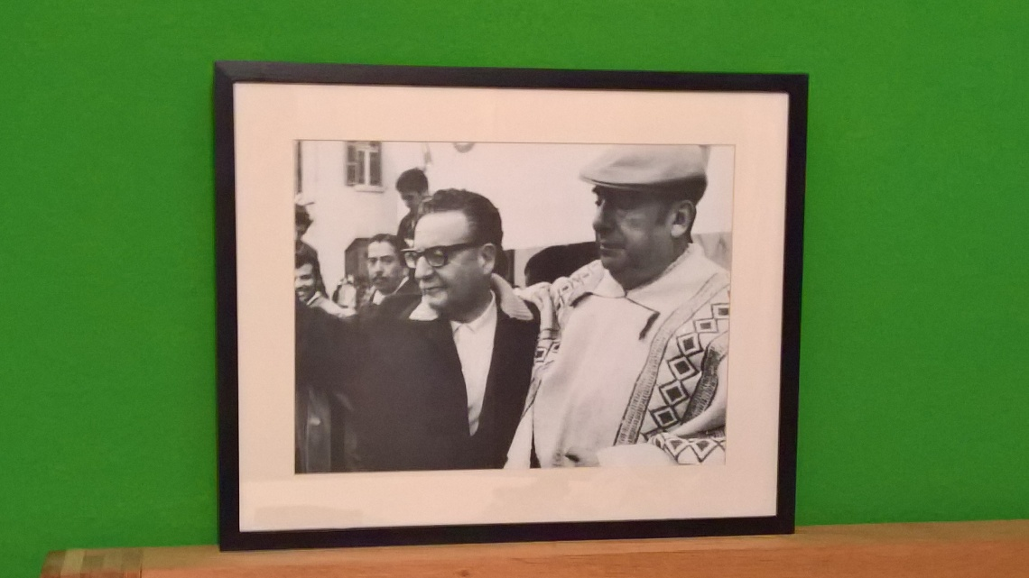 Salvador Allende und Pablo Neruda