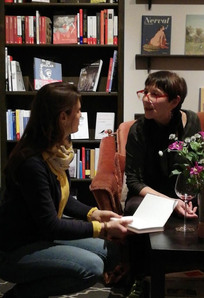 Die Bücherliebhaberin mit Esther Andradi im Polylogue ©glasperlenspiel13