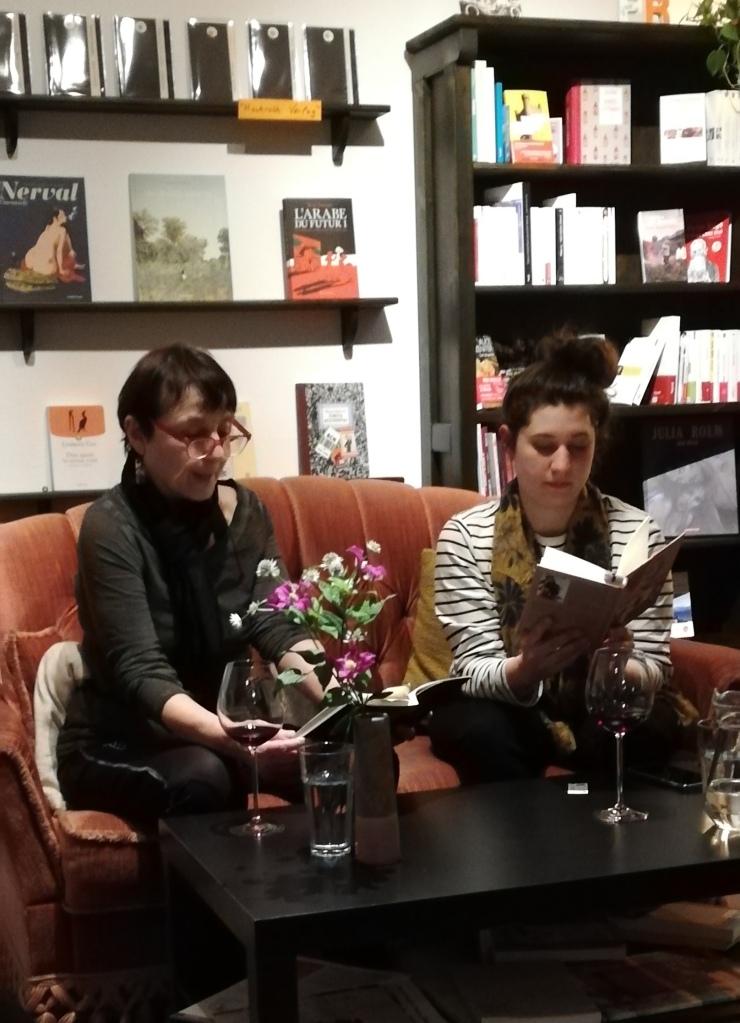 Esther Andradi und Laure Le Cloarec im Polylogue ©glasperlenspiel13