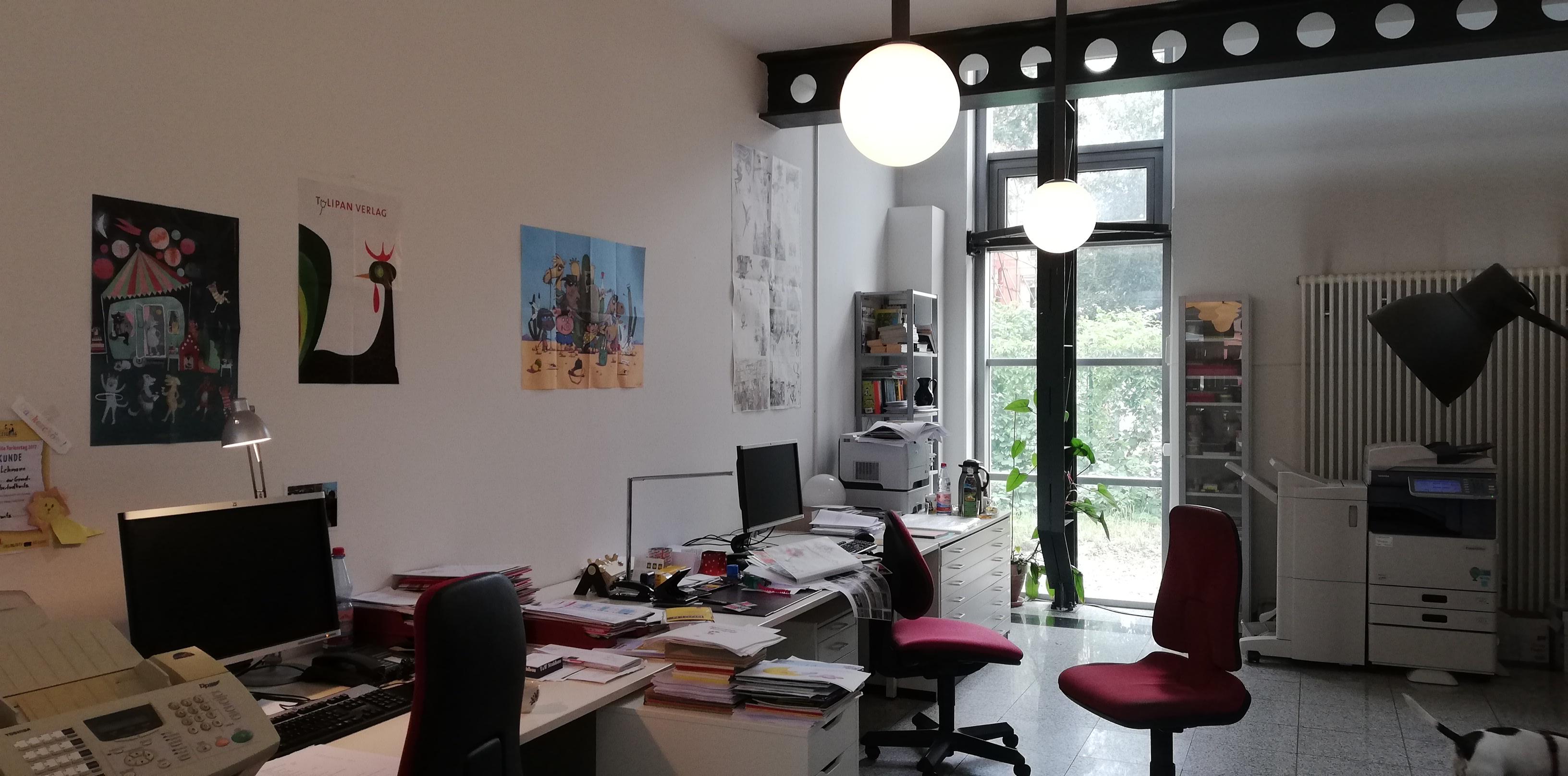 Die Räume des LEIV Verlages in Leipzig ©glasperlenspiel13